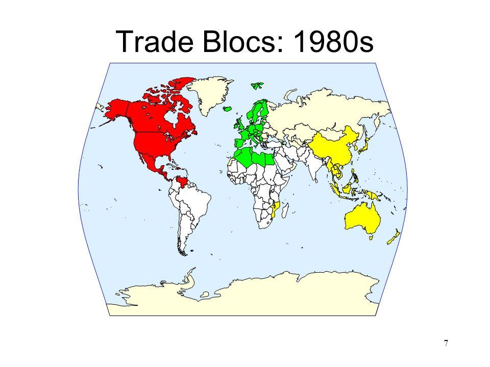 Trade Blocs: 1980s