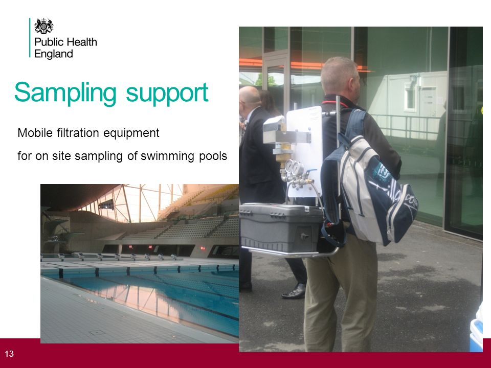 Sampling support Mobile filtration equipment