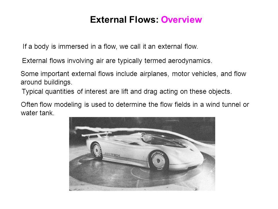 External Flows: Overview