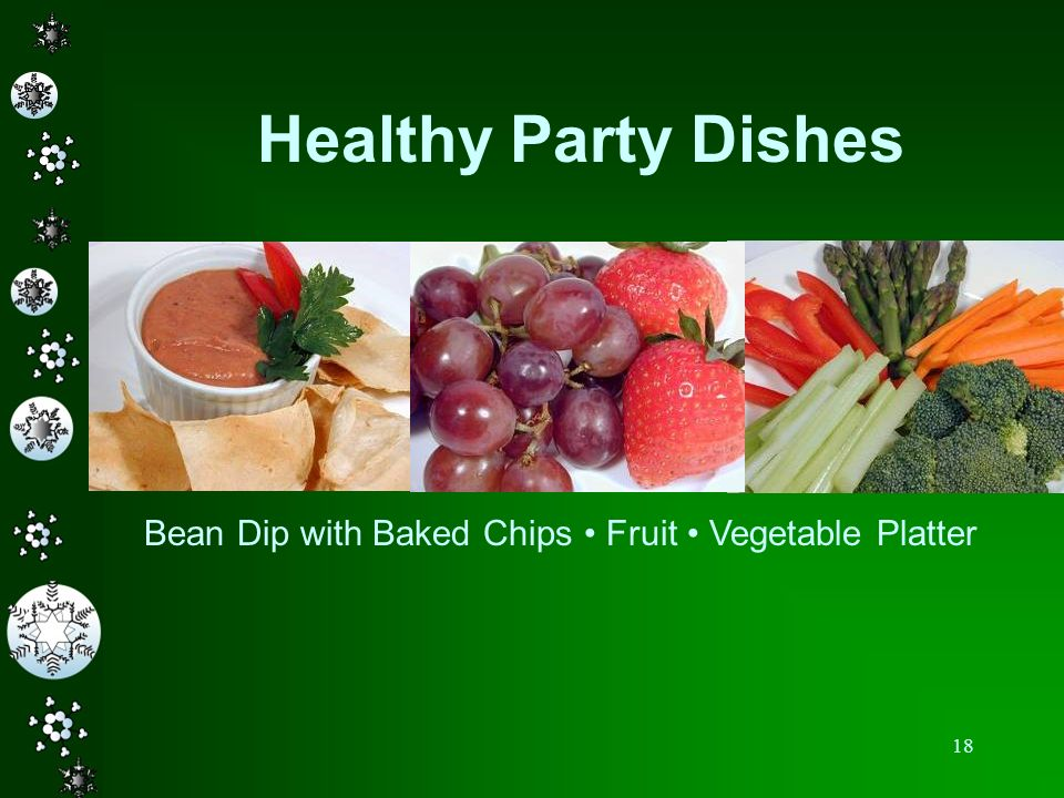 Healthy Party Dishes