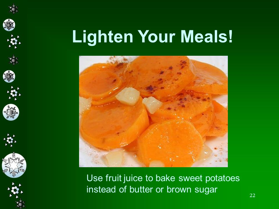 Lighten Your Meals!