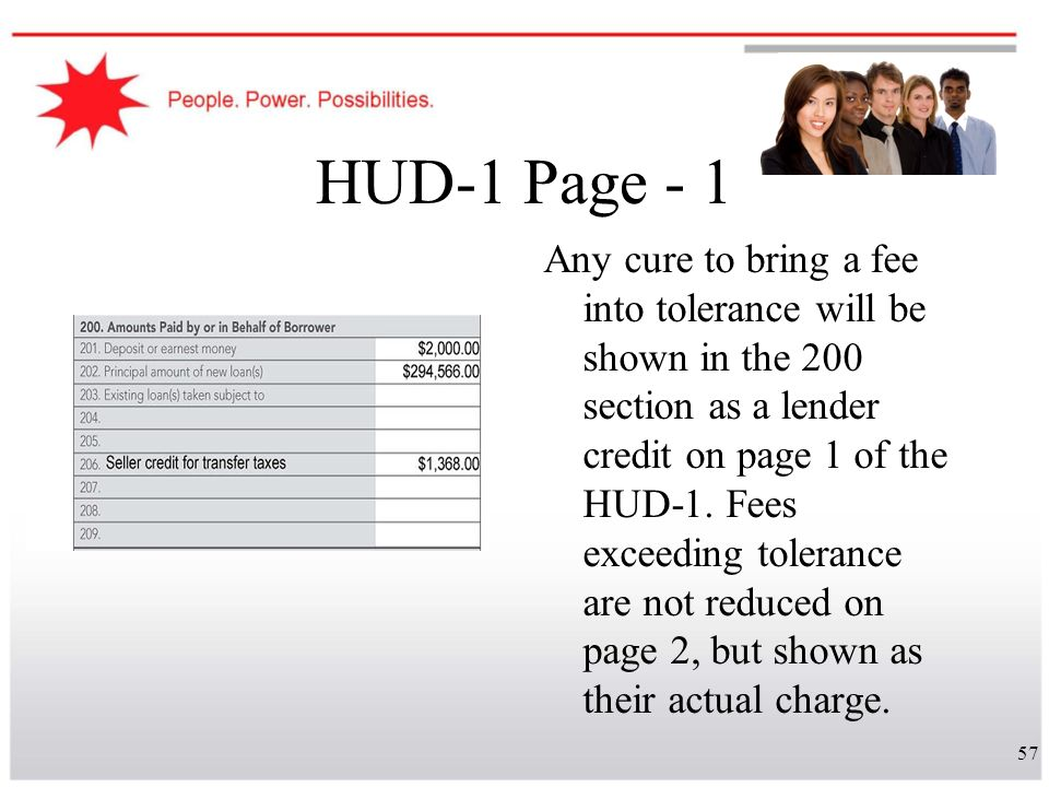 HUD-1 Page - 1