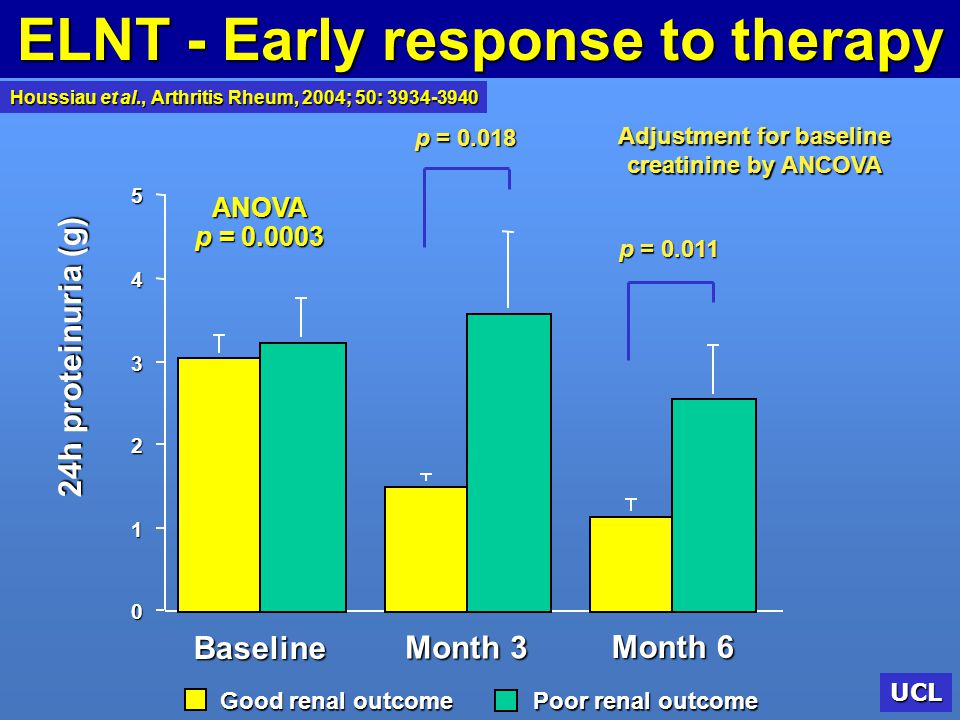 ELNT - Early response to therapy