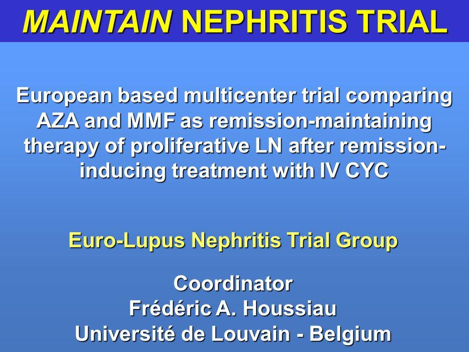 MAINTAIN NEPHRITIS TRIAL