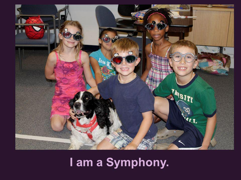 I am a Symphony.