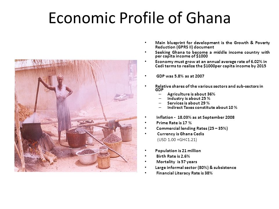 Economic Profile of Ghana