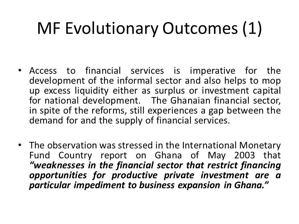 MF Evolutionary Outcomes (1)