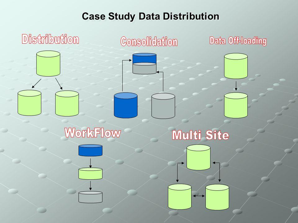 Case Study Data Distribution