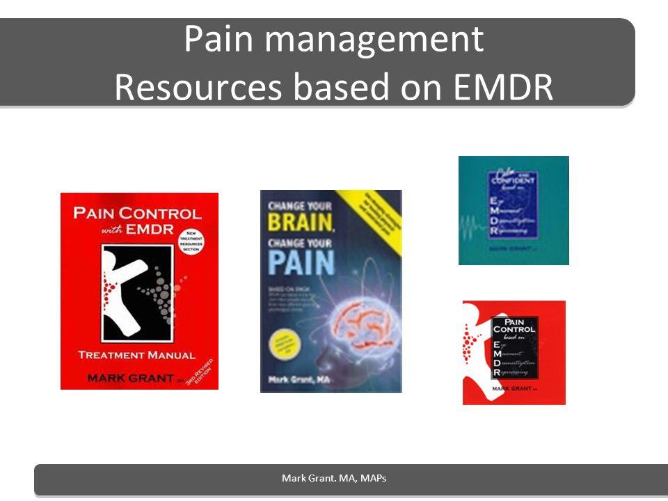 Pain management Resources based on EMDR