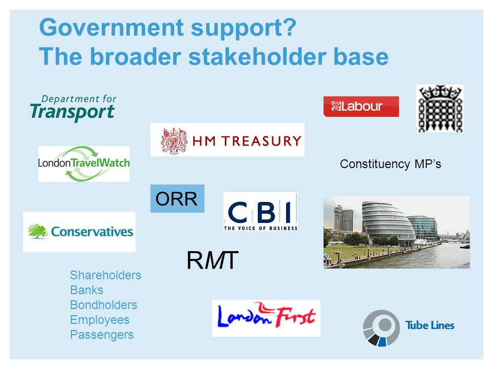 The broader stakeholder base