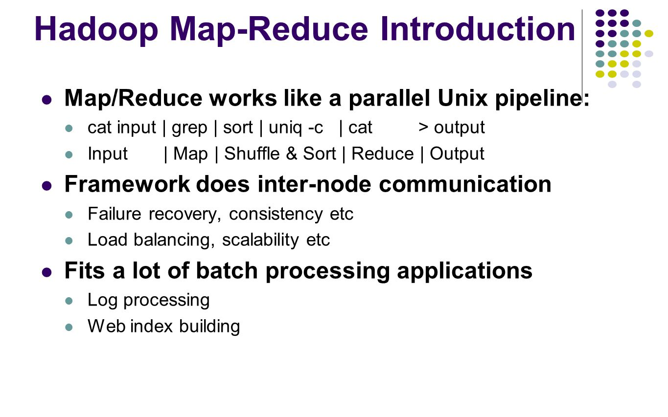 Hadoop Map-Reduce Introduction