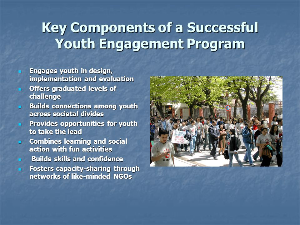 Key Components of a Successful Youth Engagement Program