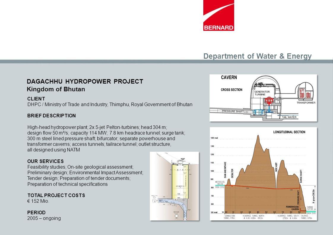 Department of Water & Energy