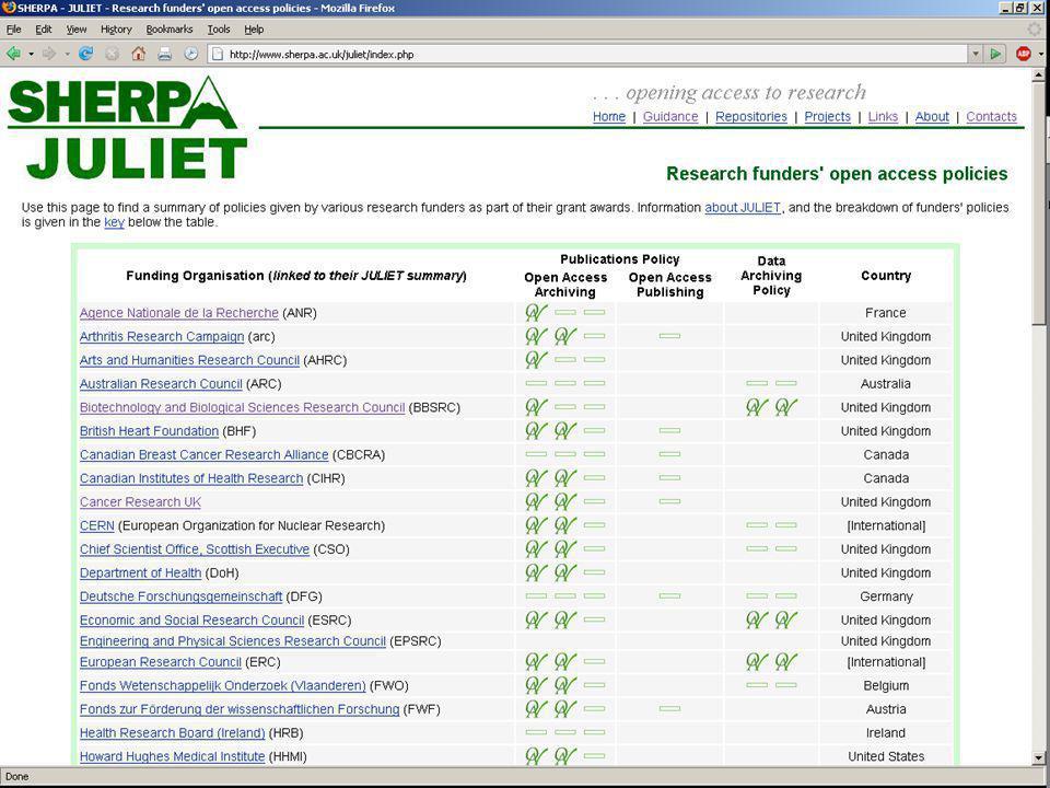 JULIET - Summary Screen