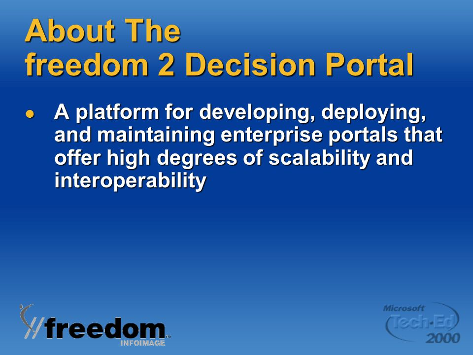 About The freedom 2 Decision Portal