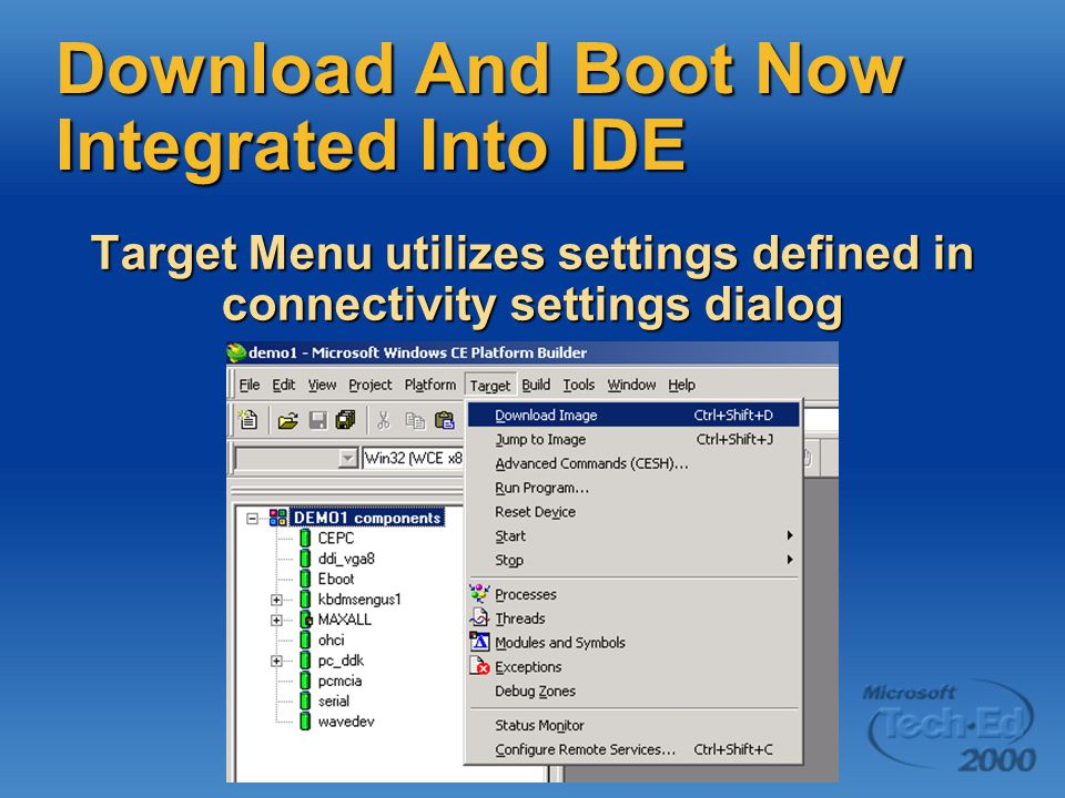 Download And Boot Now Integrated Into IDE