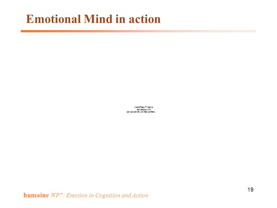 Emotional Mind in action