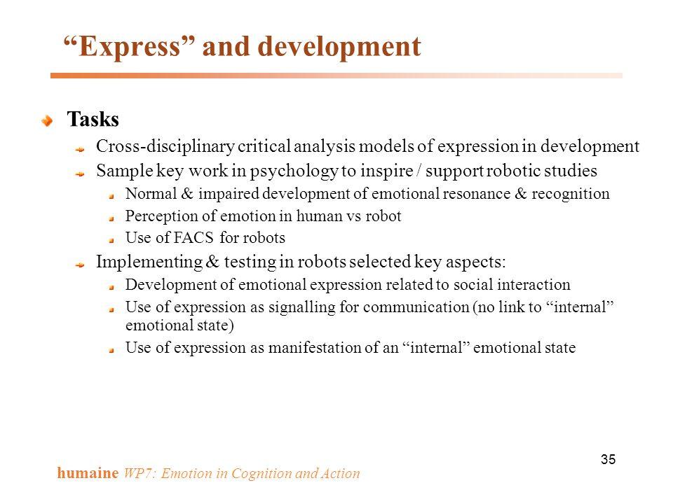Express and development