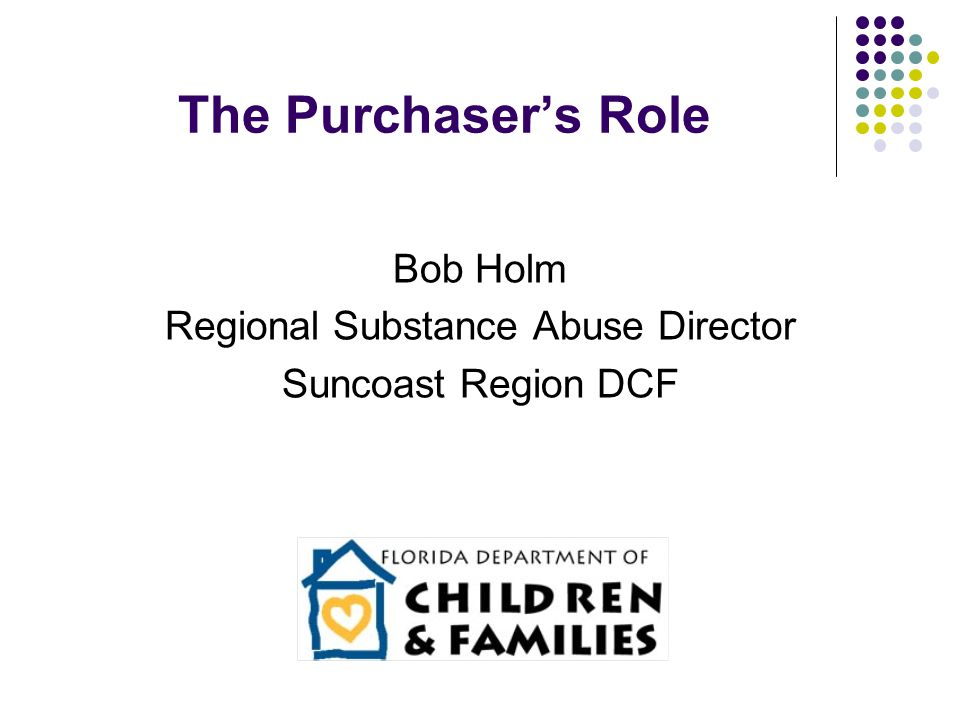 Regional Substance Abuse Director