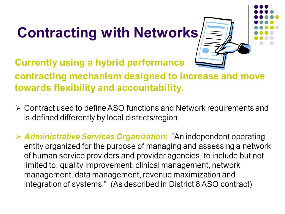Contracting with Networks