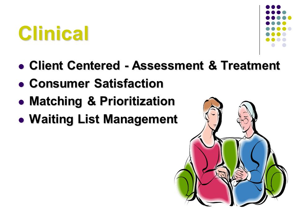 Clinical Client Centered - Assessment & Treatment