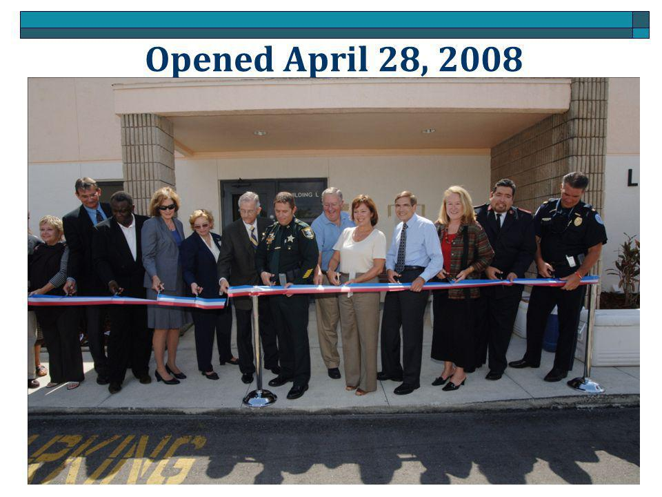 Opened April 28, 2008