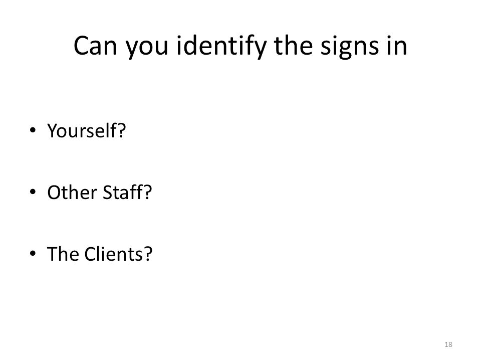 Can you identify the signs in