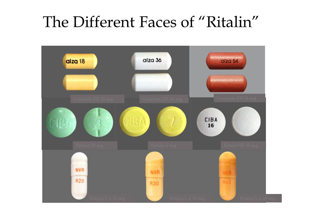 The Different Faces of Ritalin