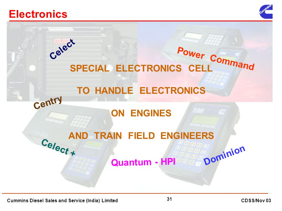 SPECIAL ELECTRONICS CELL AND TRAIN FIELD ENGINEERS