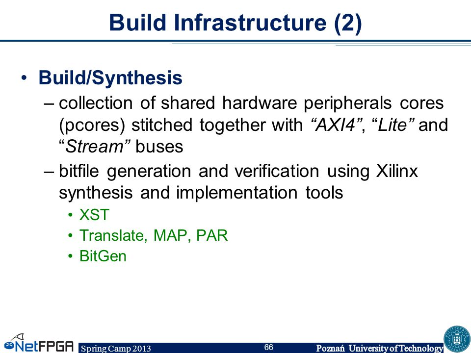 Build Infrastructure (2)