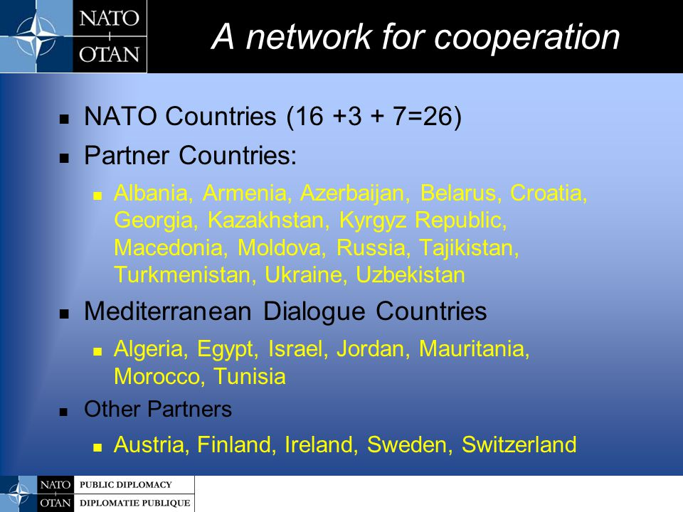 A network for cooperation