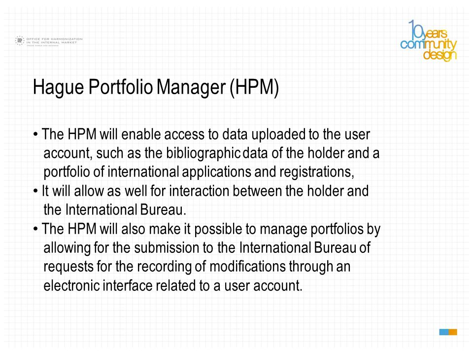 Hague Portfolio Manager (HPM)