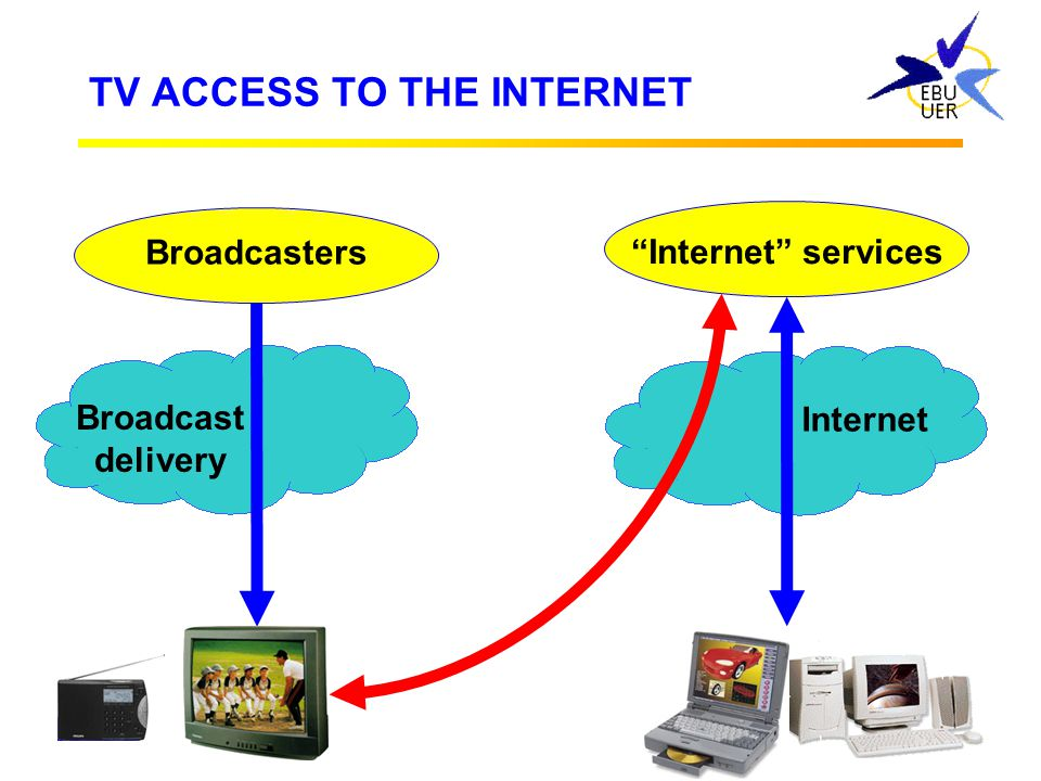 TV ACCESS TO THE INTERNET