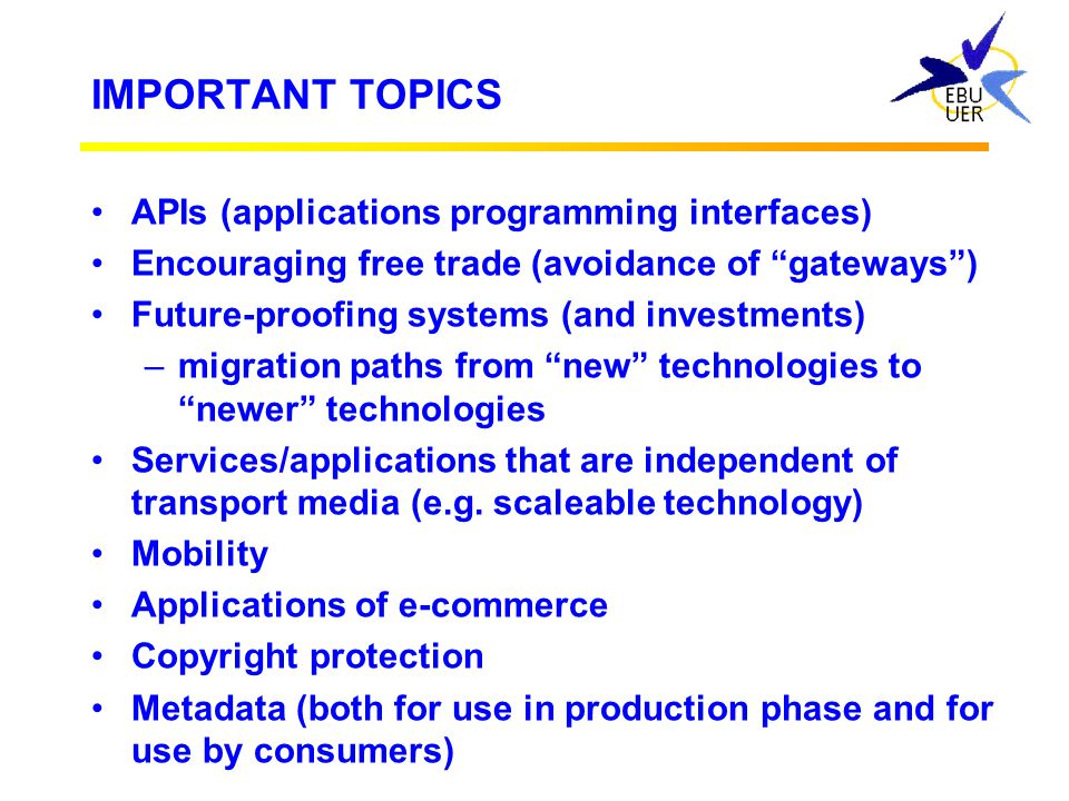 IMPORTANT TOPICS APIs (applications programming interfaces)