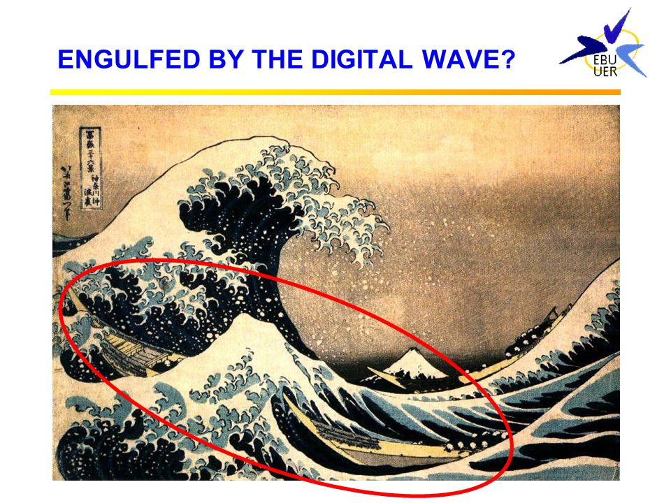 ENGULFED BY THE DIGITAL WAVE