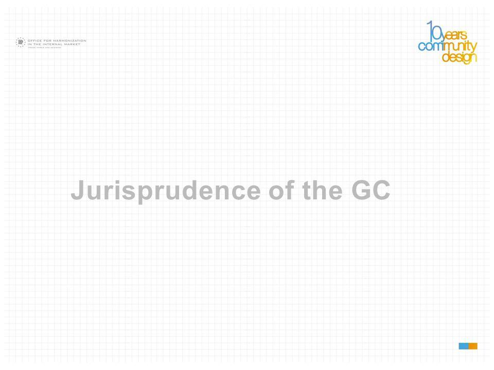 Jurisprudence of the GC