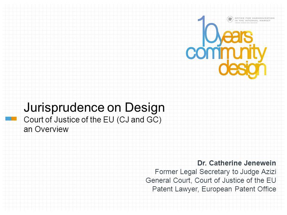 Jurisprudence on Design