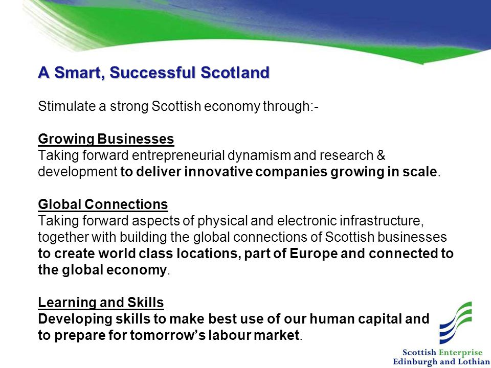 A Smart, Successful Scotland