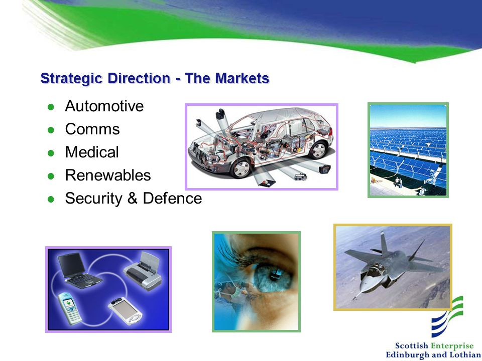 Strategic Direction - The Markets