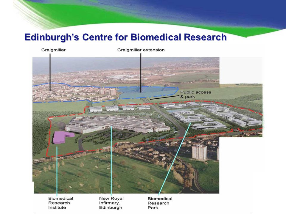 Edinburgh's Centre for Biomedical Research