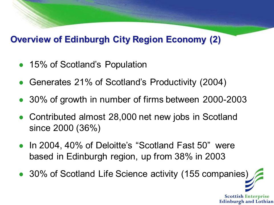 Overview of Edinburgh City Region Economy (2)