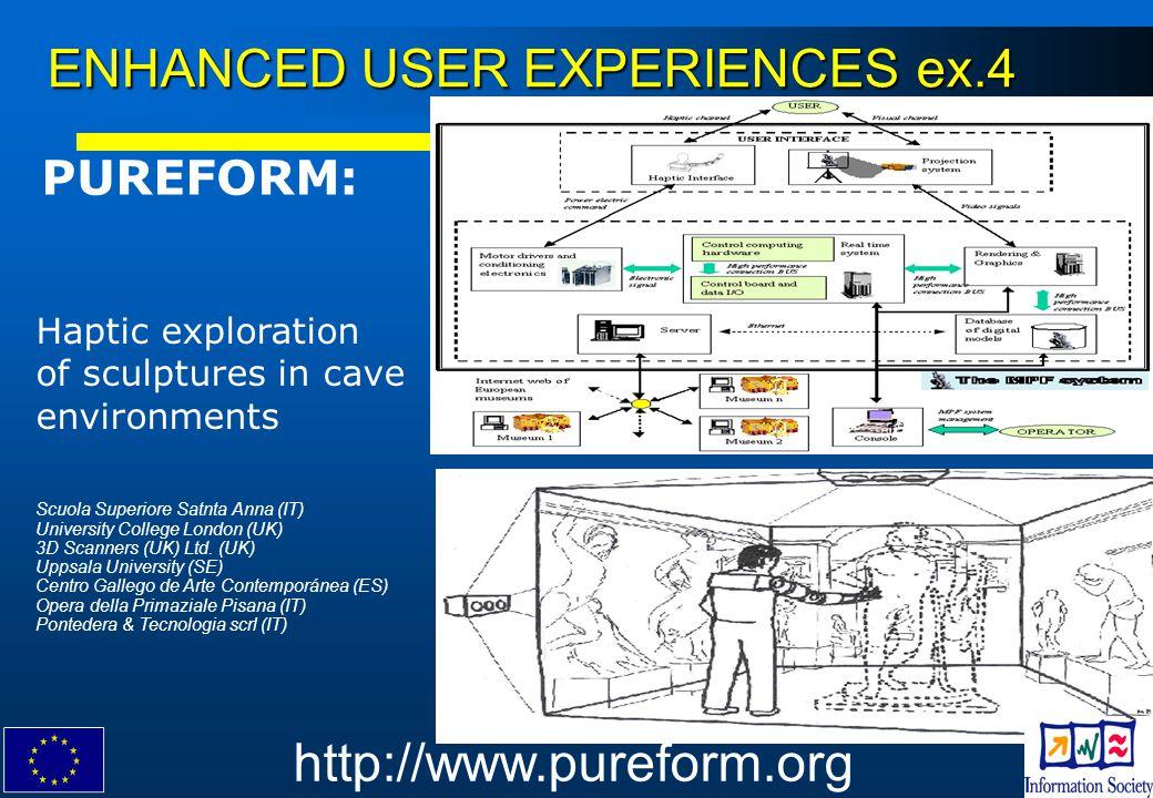 ENHANCED USER EXPERIENCES ex.4