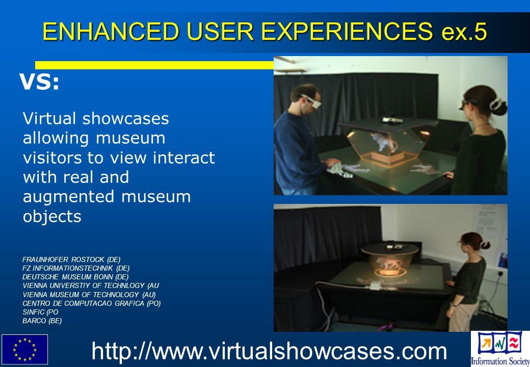ENHANCED USER EXPERIENCES ex.5