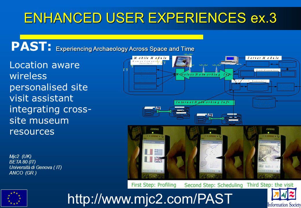 ENHANCED USER EXPERIENCES ex.3