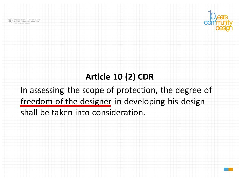 Article 10 (2) CDR