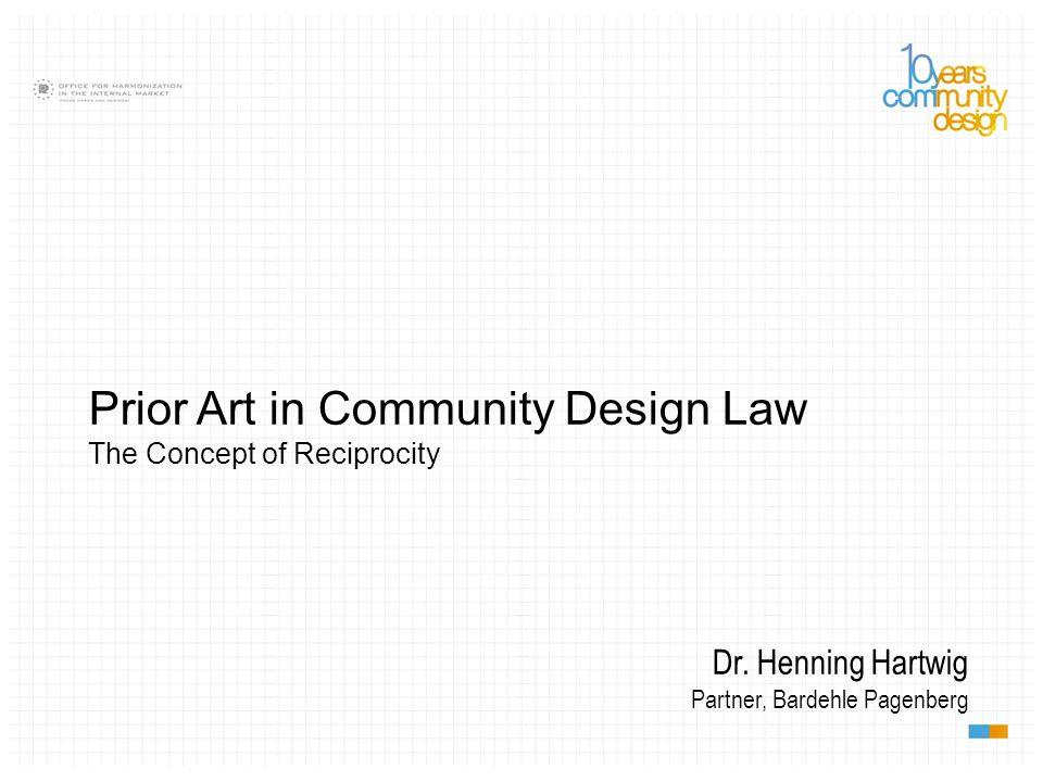 Prior Art in Community Design Law
