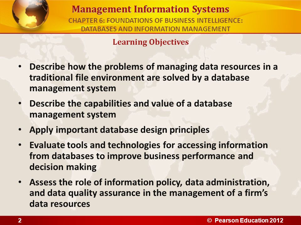Describe the capabilities and value of a database management system