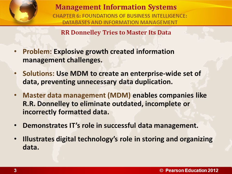 management information systems case study chapter 1