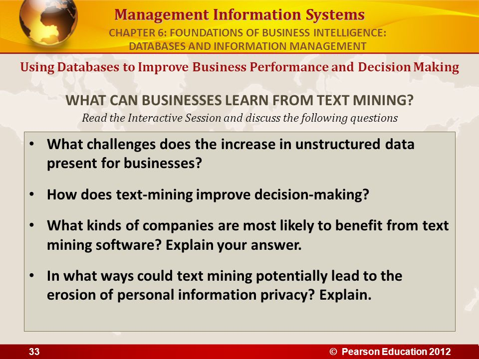WHAT CAN BUSINESSES LEARN FROM TEXT MINING
