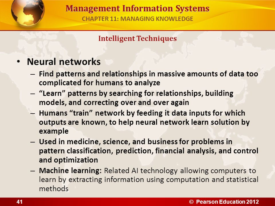 CHAPTER 11: MANAGING KNOWLEDGE